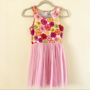 Guess floral tulle dress